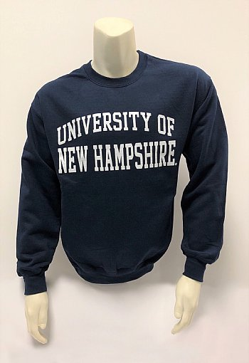 197980c63 Traditional Univ. of New Hampshire Crewneck